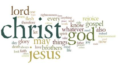 Philippians wordle